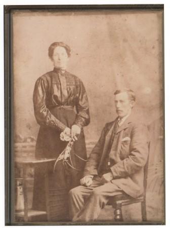Granny and granda smith. and Granny smith and children[18857]