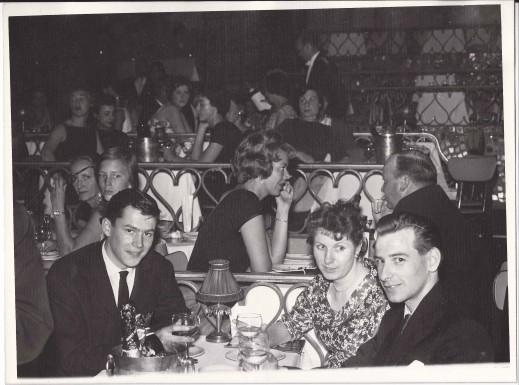 Fay and Colin Ambrose Honeymoon 1960