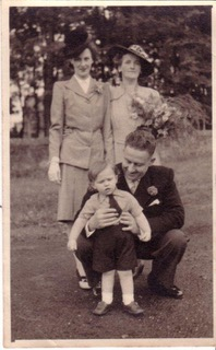 Kleber + Isabel Wedding 1946